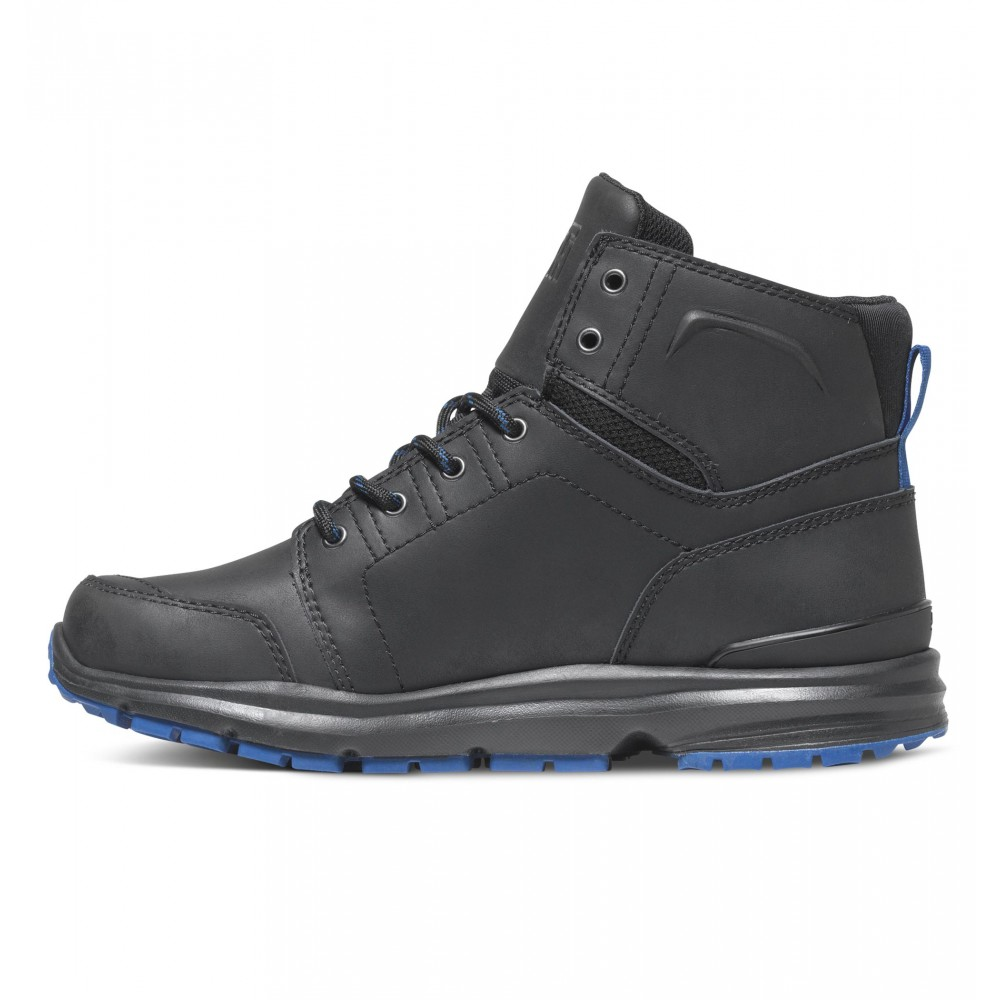dc shoes torstein boot black blue sk8 clothing canada