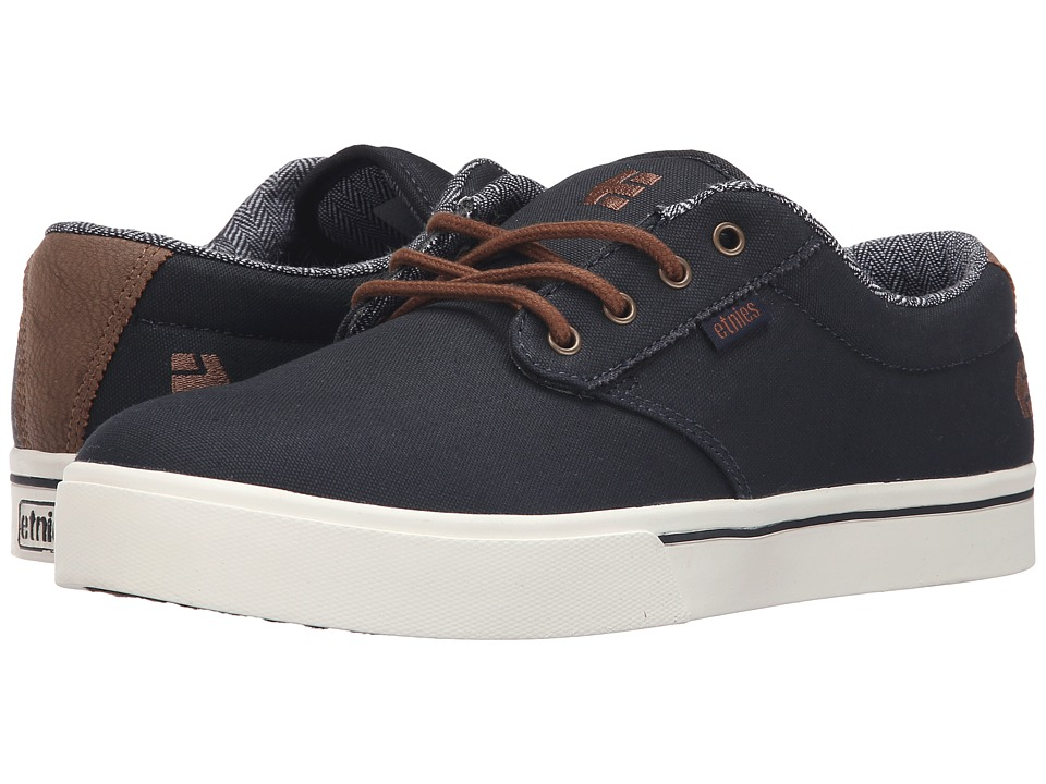 062180ac634bc9 etnies Jameson 2 Eco Shoes, Navy Brown White | SK8 Clothing Canada