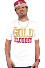 Adapt Gold Blooded Tee, White