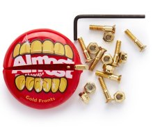 "Almost Gold Nuts & Bolts in Your Mouth 7/8"" Allen Hardware"