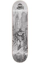 Almost Rodney Mullen Batman Pencil Sketch Deck 8.0