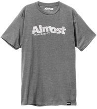 Almost Worn Out Logo Tee, Athletic Heather