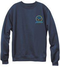 Andale Fresh OG Logo Crew, Navy Heather