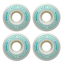 Chance Skateboards Street Chiefs Wheels 54mm, White