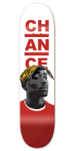 Chance Skateboards Tupac Deck