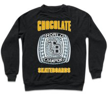 Chocolate TB World Champs Crew, Black