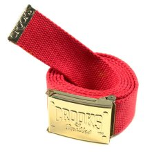 Crooks & Castles Beginners Belt, True Red