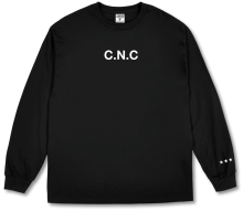 Crooks & Castles C.N.C LS Tee, Black