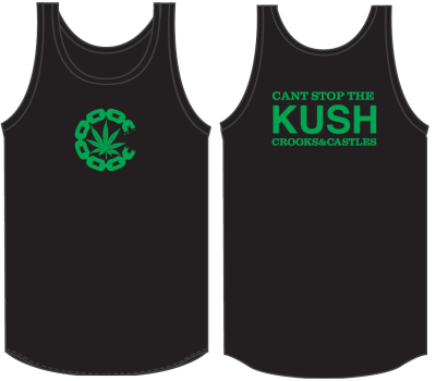 Crooks & Castles Chronic Tank, Black