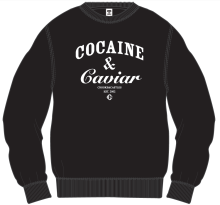 Crooks & Castles Cocaine & Caviar Crew, Black
