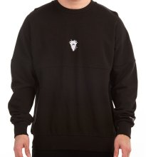 Crooks & Castles Cryptic Medusa Dolman Crew, Black