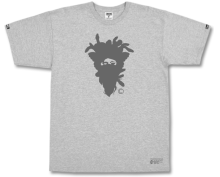 Crooks & Castles Cryptic Medusa Tee, Heather Grey