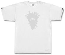 Crooks & Castles Cryptic Medusa Tee, White
