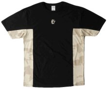 Crooks & Castles Desert Strike Camo, Tee Black