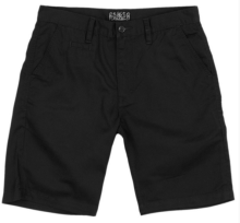 Crooks & Castles Elite Chino Shorts, Black