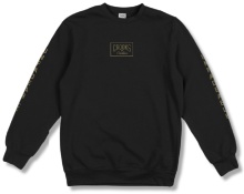 Crooks & Castles Fades Crew, Black