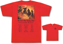 Crooks & Castles Four Horsemen Tee, Red