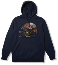 Crooks & Castles Full Metal Crooks Hoodie, Navy