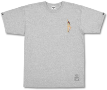 Crooks & Castles Get Paid Tee, Heather Grey