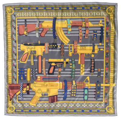 Crooks & Castles Golden Arms Woven Scarf