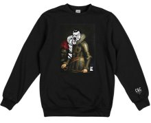 Crooks & Castles Juxtaposed Crew, Black