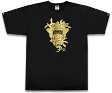 Crooks & Castles Medusa 10Yr Tee, Black