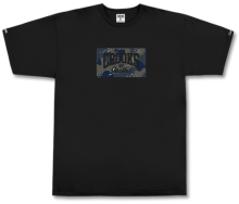 Crooks & Castles Nomad Core Logo Tee, Black