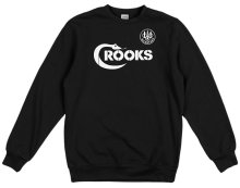 Crooks & Castles Pistol Whip Crew, Black
