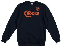 Crooks & Castles Pistol Whip Crew, Navy