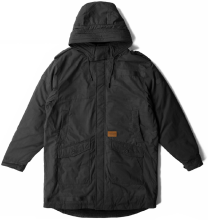 Crooks & Castles Quaay-Day Parka Jacket, Black