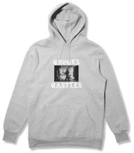 Crooks & Castles Riot Hoodie, Heather Grey