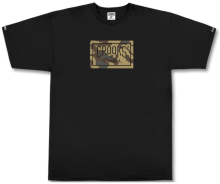 Crooks & Castles Storm Camo Core Tee, Black