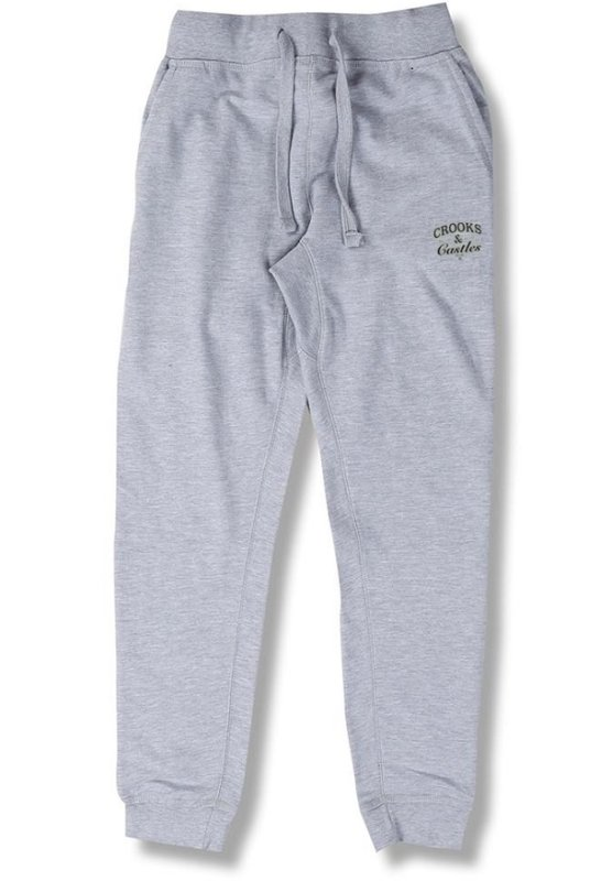 MULY Mens Crooks and Castles Sweatpants Long Fleece Pants