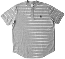 Crooks & Castles Toecutter Polo, Heather Grey