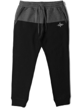 Crooks & Castles Originator Sweatpants, Black