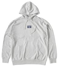 Crooks & Castles Logo Dolman Hoodie, Heather Grey