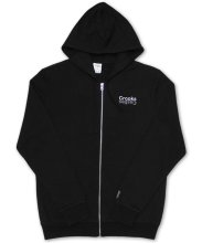 Crooks & Castles Mirror Zip Hoodie, Black