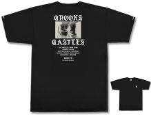 Crooks & Castles Riot Tee, Black