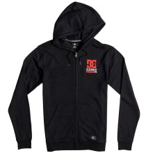 DC Shoes Physed 94 Zip Hoodie, Black