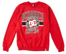 DC Shoes RD League Crew, Red