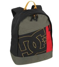 DC Shoes Slider Backpack, Black Rasta