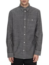 DC Shoes Arrowood LS Chambray, Black