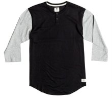 DC Shoes Basic 3/4 Sleeve Tee, Black