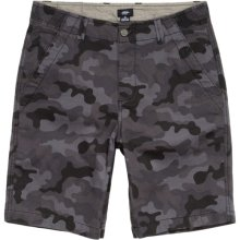 DC Shoes Chris Cole Tomahawk Shorts, Black Camo