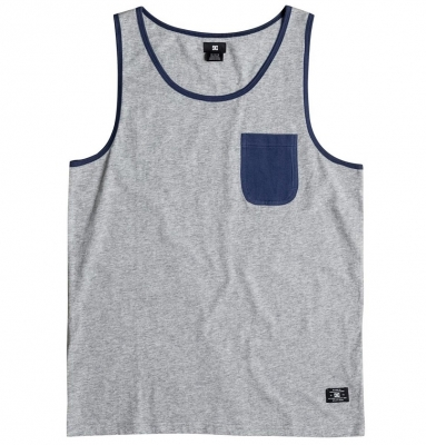 DC Shoes Contra Tank, Grey Heather