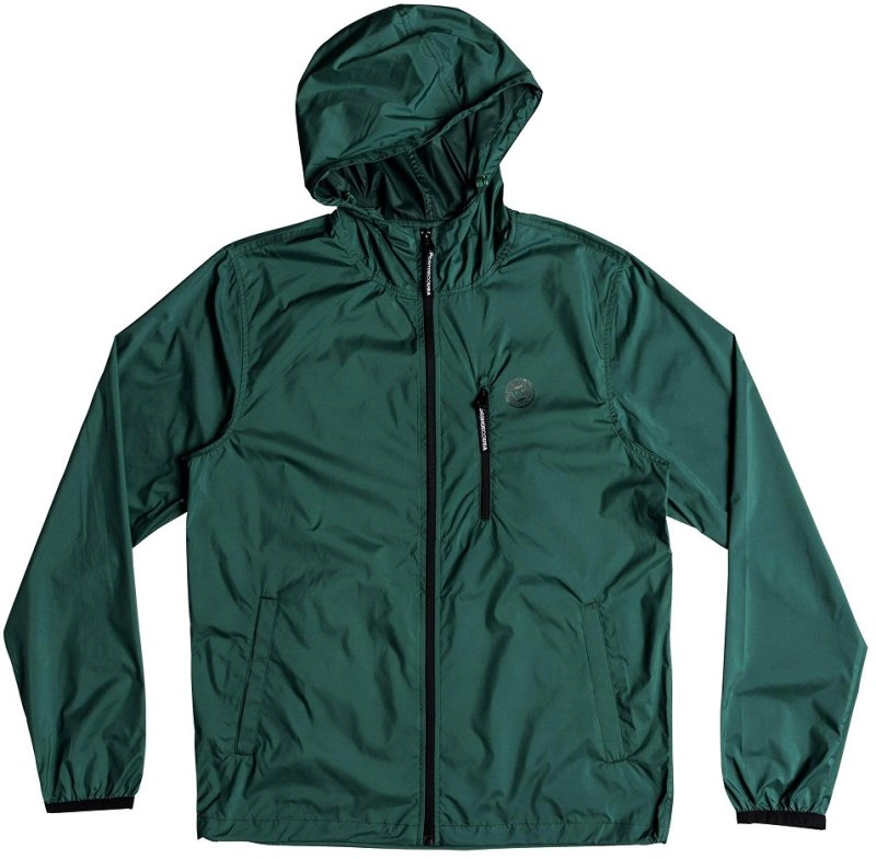 63c87a12ff48 DC Shoes Dagup Windbreaker Hunter Green