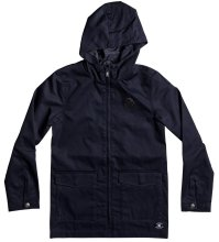 DC Shoes Exford Hooded M65 Jacket, Dark Indigo
