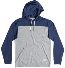 DC Shoes Heroland 3 LS Hooded Tee, Summer Blues