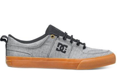 DC Shoes Lynx Vulc TX SE Shoe, Granite
