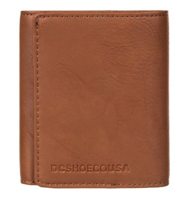 DC Shoes Mix Messages Wallet, Coffee Bean